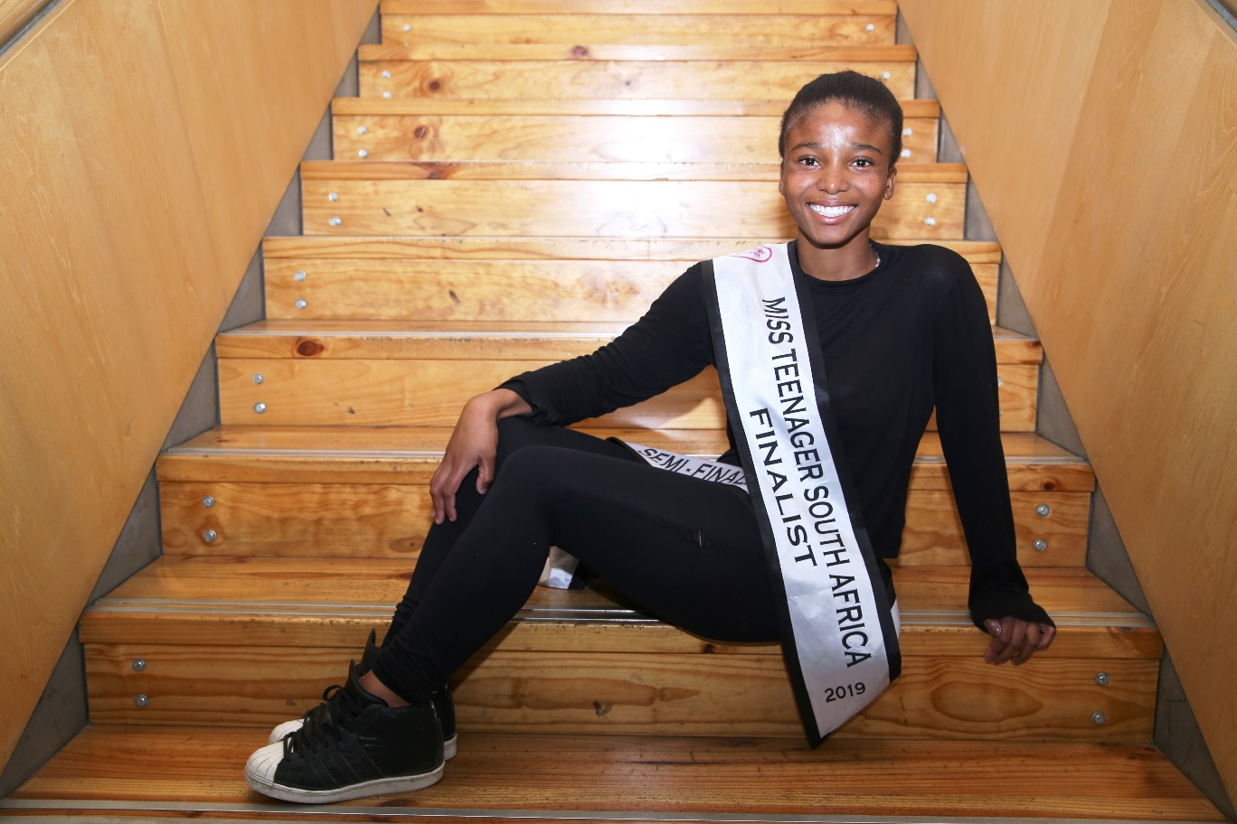 West Coast College Student – Finalist for Miss Teenager South Africa