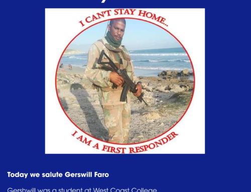 Attacking the COVID-19 Frontline – Meet Gershwill Faro: One of our former students fighting COVID-19