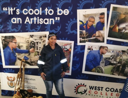 West Coast College Vredenburg campus has their first female Boilermaker